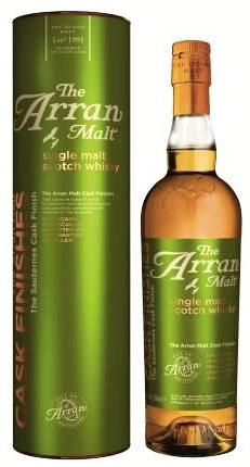 Isle Of Arran Single Malt Scotch Sauternes Cask Finish